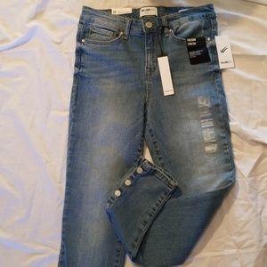 William Rast Sculpted High Rise Skinny Jeans 26